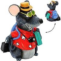 Preisvergleich für alles-meine GmbH Große Spardose - Maus ALS Urlauber / Tourist - mit Koffer, Rucksack + Tasche..