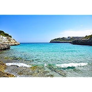 Home Comforts LAMINATED POSTER Cala Anguila Balearic Islands Spain Sea Mallorca Poster Print 61 x 91.5