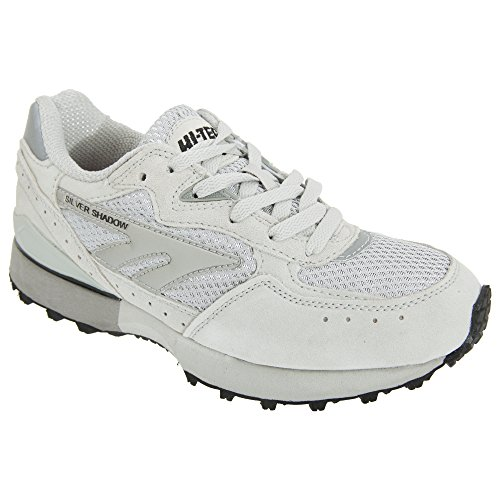 Hi-Tec Mens Silver Shadow 2 Trainers Lace Up Breathable Sport Running Shoes