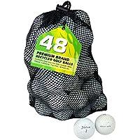 Titleist, Set di palline da golf Pro V1 Lake, Bianco (White), 48 pz.