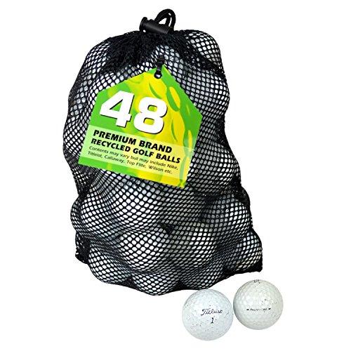 TITLEIST Pro V1 Golfbälle, Klasse B, See, 48 Stück, weiß