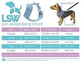 Hundegeschirr für Kleinhunde, damit er nicht zieht – Atmungsaktiv, aus Baumwolle, getupftes Muster – Vielfalt an Farben und Größen Schwarz Klein - 3