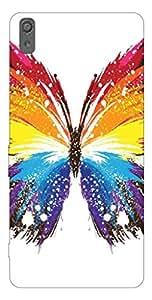 Go Hooked Designer Sony Xperia M4 Aqua Designer Back Cover | Sony Xperia M4 Aqua Printed Back Cover | Printed Soft Silicone Back Cover for Sony Xperia M4 Aqua