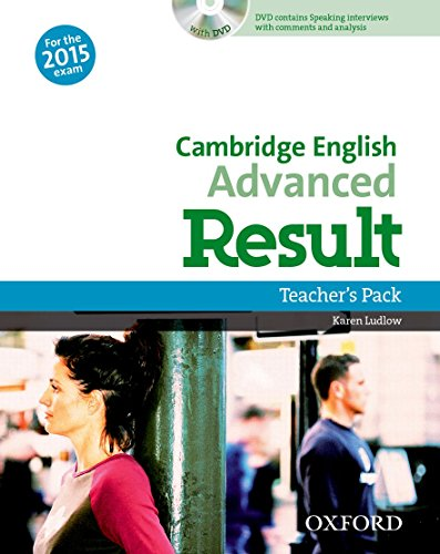 Cambridge English: Advanced Result: CAE Result Teacher's Book & DVD Pack Ed 2015 (Cambridge Advanced English (CAE) Result)