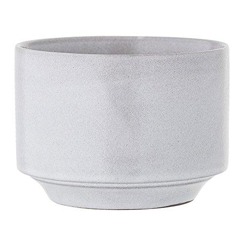 Bloomingville – Blumentopf – grau – Keramik – Ø12,5xH9,5 cm