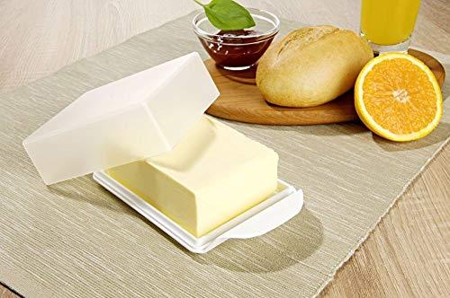 Unbekannt Butterdose Butterglocke Kühlschrankbutterdose Butter Box Aufbewahrung Butterbox