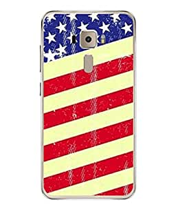PrintVisa Crazy Man Dare High Gloss Designer Back Case Cover for Asus Zenfone 3 ZE552KL (5 Inches)