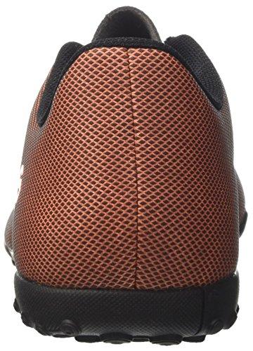 adidas X 17.4 TF, Chaussures de Football Homme Multicolore (Core Black/solar Red/solar Orange)
