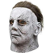Máscara 3D de cabeza para Halloween Devoluciones Máscara de Michael Myers Scary Horror Máscara de látex