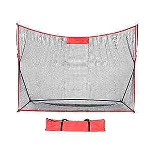 ANOLLY das Käfig 3 schlägt Golf-Übungsnetz Schwingen im Freien schneidet tragbares Übungsnetz Übungs Golf-Übungsnetz…