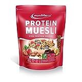 IronMaxx Protein Müsli Banane – Veganes Fitness Müsli laktosefrei und glutenfrei