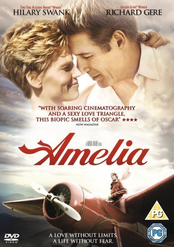 Amelia [DVD] by Hilary Swank