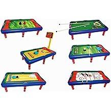 Team Power - Table de jeu - Multijeux  6 jeux en 1 - Baby- 9e1e8ee54872