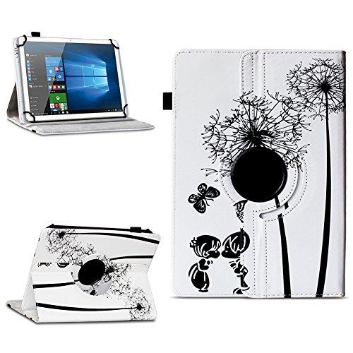 Xido Z120 Z110 X111 X110 Tablet Tasche Schutzhülle hochwertiges Kunstleder Hülle Standfunktion 360° Drehbar Cover Universal Case, Farben:Motiv 8
