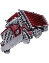 MagiDeal Boucles de ceinture Classique Style de Western Cowboy Motif Camion  pour Homme 3.54 x 2.76 ef7012216f8