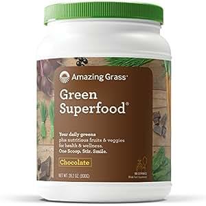 Amazing Grass Green SuperFood Chocolate 830ml