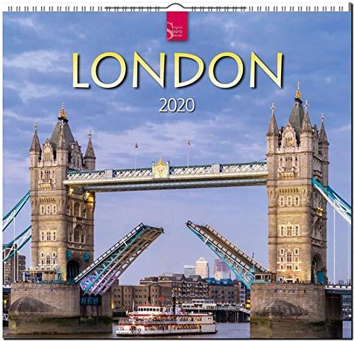 London: Original Stürtz-Kalender 2020 - Mittelformat-Kalender 33 x 31 cm