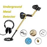 Anself High Sensitivity High Performance Metal Detector MD3010II Underground Metal Detector Gold Digger