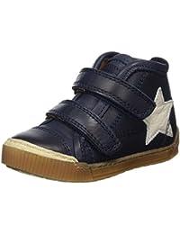 Bisgaard Unisex-Kinder Klettschuhe Hohe Sneaker