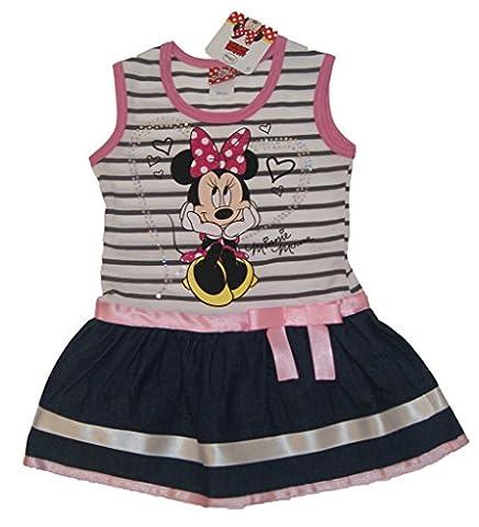 Mädchen-Kleid in GRÖSSE 86, 92, 98, 104, 110 116 gestreift