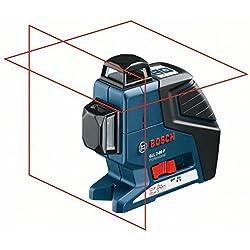 Bosch Professional Laser ligne et laser croix GLL 2-80P + BM1+ Pince + LR2+ Couverture L de B