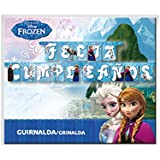 Frozen - Guirnalda feliz cumpleaños (Verbetena 014001262)