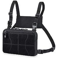 WYNEX Recon Kit Bag, Tactical Combat Chest Pack Molle Vest Bags Mochila Delantera Mochila Daypack Gancho Frontal y Panel de Bucle