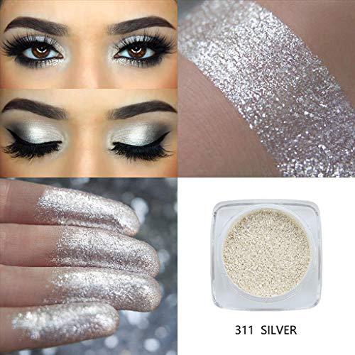 PHOERA Glitter Powder Shimmering Colors Lidschatten Metallic Eye Cosmetic