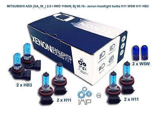 mitsubishi-asx-ga-w-20-i-4wd-118kw-bj-0610-lampadine-allo-xenon-h11-w5w-h11-hb3