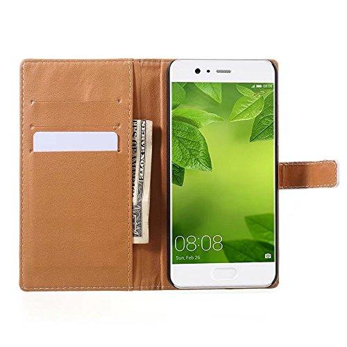 Custodia iPhone 7,TXLING Cover iPhone 7/iPhone 8 4.7 Flip Case,Elegante borsa Custodia in Pelle Protettiva Portafoglio Case Cover per Apple iPhone 7 4.7 / con Supporto di Stand / Carte Slot / Chiusura 2 La luna lupo