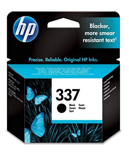 HP 337 C9364EE pack de 1, cartouche d'encre d'origine, imprimantes HP DeskJet, HP OfficeJet, HP Photosmart, noir