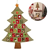 NICEXMAS Christmas Advent Calendar Countdown to Christmas , 64cm by 89cm