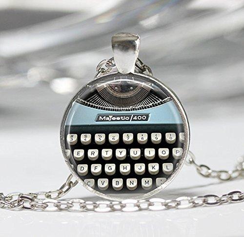 Schlüssel Halskette, Schreibmaschine Schlüssel Schmuck Writer Jewelry ()
