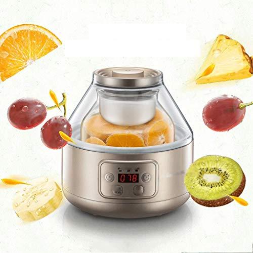 LMDJ Macchina casalinga del Yogurt del Riso del Riso di Grande capacità di Funzione Automatica Domestica 2L, Macchina di fermentazione del barilotto dell'enzima della Frutta