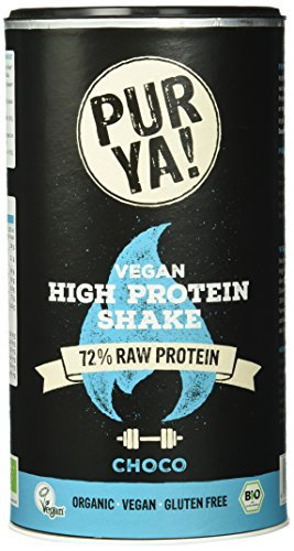 (Purya Bio Vegan High-Protein Shake Choco, 1er Pack (1 x 550 g))