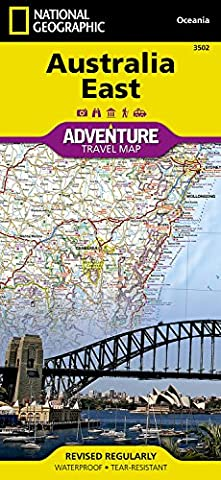Australia East adv. ng r/v (r) wp (Adventure Map (Numbered))