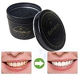 Gaddrt Carbon coco bio blanchiment des dents de charbon de bois en poudre naturel dent poli pour la beauté (b)