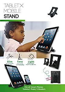 (Buy 1 Get 1 Free Tablet Stand) Black Mobile Stand For all smart phones & Pad / iPhone / HTC / Samsung Galaxy / Blackberry / SONY / LG -Alpha Aurum(TM)