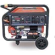 Daewoo GDA3300E - Generador eléctrico a gasolina de 208 cc, 2800 W, 240V con arranque eléctrico