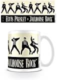 Elvis Presley Jailhouse Rock 11oz/315ml Kaffeetassen Mehrfarbig