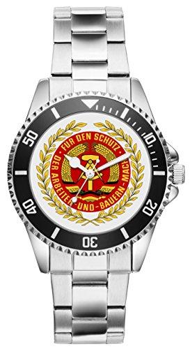 KIESENBERG Uhr - Geschenk für Ostalgie DDR NVA Fans 1166