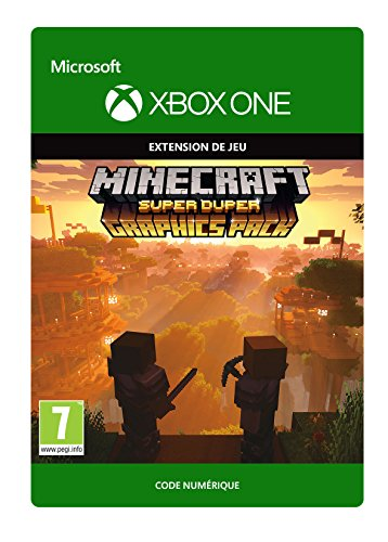 Minecraft: Super Duper Graphics Edition | Xbox One - Code jeu à télécharger