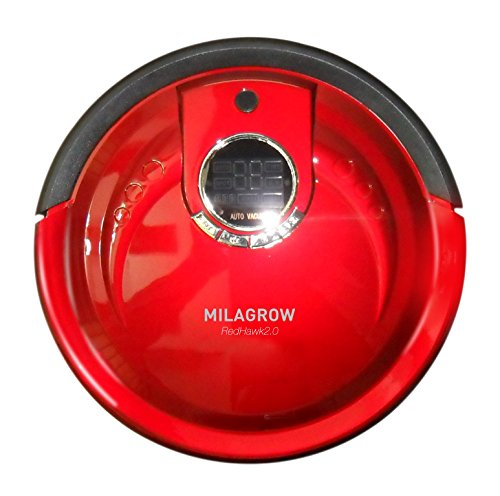 Milagrow RedHawk MGRV 01 Robotic Floor Cleaner (Red)  available at amazon for Rs.21990