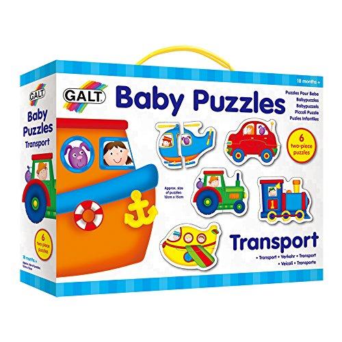 Galt America Bambi Toys Puzles Infantiles-Transport, (Galt G053037)