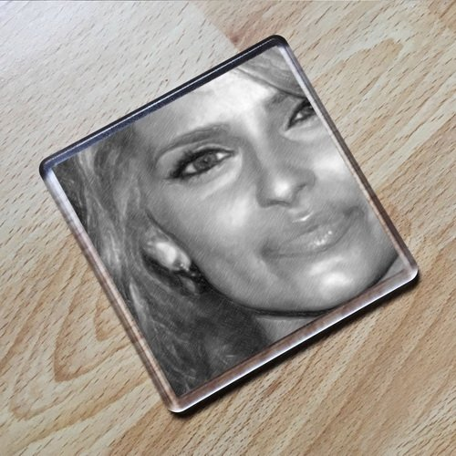 Seasons NELLY FURTADO - Original Art Coaster #js004
