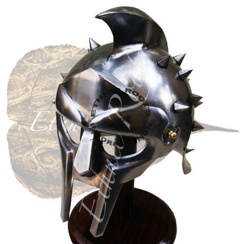 Gladiator Maximus Helm fitted liner-film/Folie/larp/Rollenspiel fancy/Kleid, inklusive (Gladiator Kostüm Film)