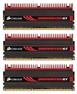 Corsair CMT6GX3M3A2000C8 Mémoire RAM DDR3 2000 6 Go COR CL8 Dominator DHX+ Kit3 XMP