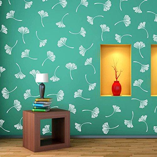 Arhat Stencils Glossy PVC ASR-E196 FLORAL Wall Stencils