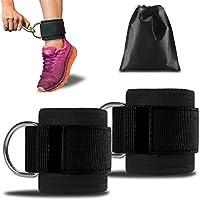 Preisvergleich für MOUSEAN Fußschlaufen für Kabelzug Fitness - fußschlaufen Training am Kabelzug - für Frauen und Männer - 2 Jahre Gewährleistung (2Stück)