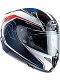 R1DBLL - HJC RPHA 11 Darter Motorcycle Helmet L Red White Blue (MC21)